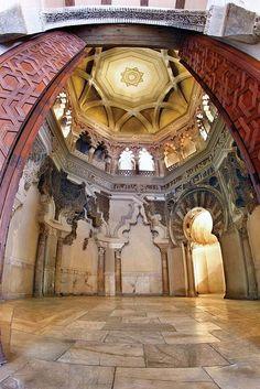 Zaragoza, Spain. Palacio de la Aljafería (mirhab) / Aljafería Palace - Daniel Marcos & Félix Bernad - by Zaragoza Turismo, via Flickr