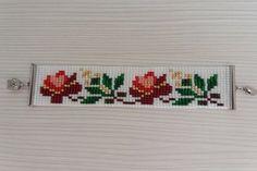 off loom beading techniques Loom Bracelet Patterns, Bead Loom Bracelets, Beaded Jewelry Patterns, Beading Patterns, Beading Ideas, Bead Crochet Patterns, Bijoux Diy, Bead Jewellery, Beading Techniques