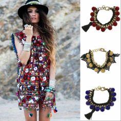 Shop new #bracelets #boho #style!! >>> http://be-snazzy.com/jewellery/bracelets FREE SHIPPING on orders over £100 in the UK and over £150 on all international orders! @Be-Snazzy .com