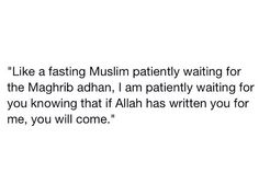 So so true this is exactly what I do when things get tough and seem unbearable I patiently wait knowing that if things and people are written for me they will alwayd happen and return regardless and only Allah is Fair and Just and His will, will always be executed..