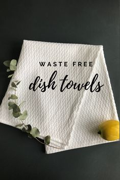 Natural eco friendly vegan dish towels handmade in Lithuania. Zero waste kitchen gift ideas for women. Linen Towels, Cotton Towels, Dish Towels, Tea Towels, Cotton Linen, Produce Bags, Zero Waste, Reduce Waste, Eco Friendly House