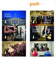 Slottsbalen, häfte Finland, Stamps, Movies, Movie Posters, Seals, Films, Film Poster, Cinema, Movie