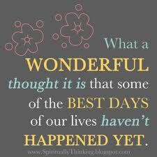 What a wonderful thought!