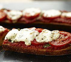 MyPanera Recipe: A French Bread Margherita Pizza