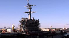 Nov. 3, 2014 undocking of USS Abraham Lincoln from the dry dock at Newport News Shipbuilding in Newport News, Va. Courtesy of Huntington Ingalls Industries