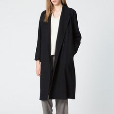 WOMEN LEMAIRE CASHMERE BLENDED ROBE COAT