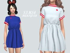 The Sims 4 Heart Mini Dress_