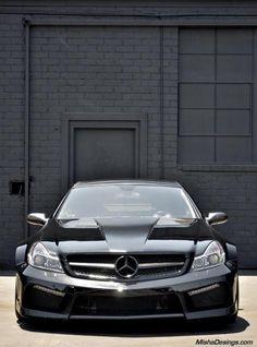 #Mercedes SLM black on black by Misha Designs