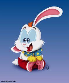 Roger Rabbit Baby by Pablo Gil - Eightoon #rogerrabbit
