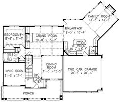 Plan W15683GE: Country, Farmhouse, Southern, Corner Lot, Photo Gallery House Plans & Home Designs