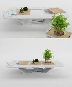 mesa de centro sustentavel