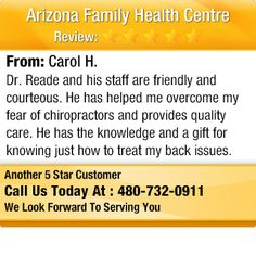 Dr. Reade and his staff are friendly and courteous.  He has helped me overcome my fear...