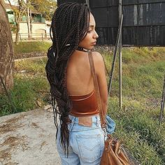 60 Chic Big & Medium & Small Box Braids Styles — Braiding Perfection