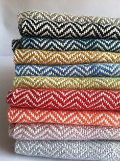 Chevron Scarf 10 Colors Available Custom Scarf by bristolloomsri, $75.00