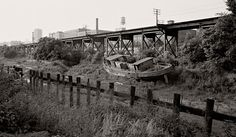 old richmond virginia photos, this vessel was still in the canal when we moved to Richmond in it is gone now. Old Photos, Vintage Photos, Richmond Virginia, City Streets, Home And Away, Past, Old Things, History, Places