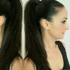 Recogidos y maquillaje🔝🔝🔝 a prueba de calor como el de CRISTINA😍😍😍 #ponytail @mentazaragoza #ric38