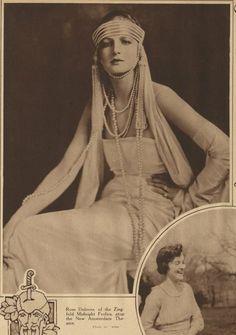 James Abbe - Dolores Kathleen Mary Rose Wilkinson New York Tribune 12 May 1918 Vintage Photos Women, Vintage Ladies, Vintage Beauty, Vintage Fashion, Ziegfeld Girls, Ziegfeld Follies, Gatsby Style, Roaring Twenties, The Duff