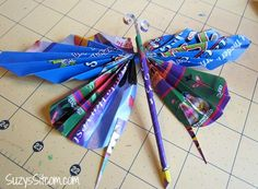 recycled butterfly wreath, crafts, wreaths