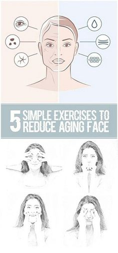 5 Simple Exercises to Reduce Aging Face