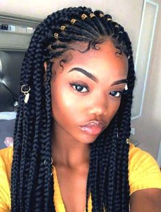 braided hairstyles for black women cornrows braids- These popular braid styles which is also known as cornrow styles, african braids, cornrow hairstyles and braided hai Box Braids Hairstyles, Kids Braided Hairstyles, Black Women Hairstyles, Girl Hairstyles, Protective Hairstyles, Hairstyles 2018, Wedding Hairstyles, Blonde Box Braids, Black Girl Braids