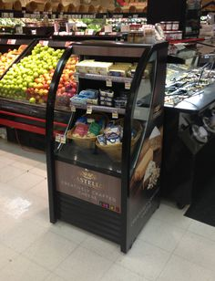 Our Castello branded OAC-210 open air grab and go cooler in Brookdale, NJ.