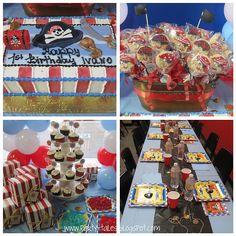 "Photo 2 of 10: Pirate 1st Birthday Party Boy / Birthday ""Little Pirates -First Birthday Party"""