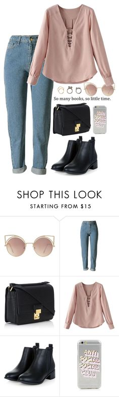 """Sin título #606"" by mary-nava ❤ liked on Polyvore featuring MANGO, 3.1 Phillip Lim and Iosselliani"