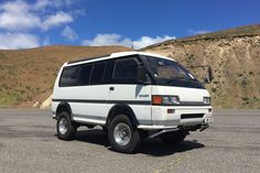 best cars for camping  mitsubishi delica