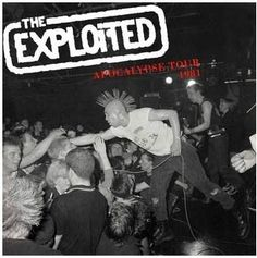 Exploited, The Apocalypse Tour 1981 Vinyl LP