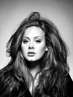 I think Adele is gorgeous. She has an incredible voice and she makes no apologies for the way she looks...that is...normal. Love her!