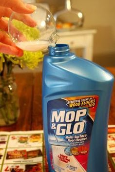 Who knew mop and glo would be good to glue glitter on the inside of an ornament!!! So much cleaner!