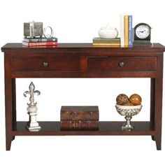 AmericanHeartland Console Table Finish: Antique Black