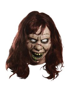Includes: One Exorcist Regan Mask. Available Size: One Size Fits Most Adults. *Costume Not Included. Complete your Exorcist costume with this realistic Exorcist Regan Mask! Halloween Costumes Women Scary, Halloween Costume Shop, Halloween Kostüm, Costumes For Women, Halloween Face Makeup, Trendy Halloween, V For Vendetta Costume, Latex, Creepy Vintage