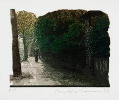 Ivor Abrahams, 'Oxford Gardens V' 1977