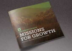 Missions for Growth Church Brochure  by loswl on @creativemarket