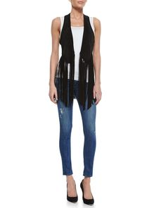 Newton Distressed Skinny Jeans, Vintage Dark