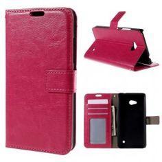 Lumia 640 pinkki puhelinlompakko.