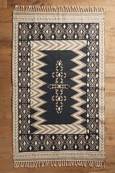 Chevron Path Rug - Anthropologie.  Other colors available