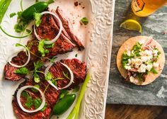 Spicy Carne Asada Marinade With Beer - Dad With A Pan