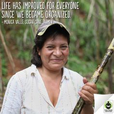 Before #FairTrade, Monica never knew if her family would have enough income. Now she can plan for her family's future, read her story here: http://fairtrd.us/14Ufh4z
