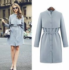 18 Best Style to Consider When Buying Women's Trench Coats Fashion Mode, Modest Fashion, Hijab Fashion, Fashion Dresses, Womens Fashion, Fashion News, Mode Bcbg, Iranian Women Fashion, Fashion Sewing