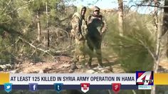 At least 125 killed in Syrian army operation in Hama