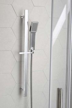Posuvný držák sprchy, 689mm, chrom, Vodovodní baterie a sprchy, SAPHO E-shop
