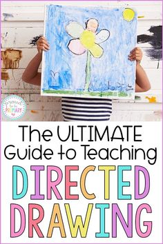 The ultimate guide to teaching directed drawing to children in the classroom. Directed drawing art activities help kids produce masterpieces and build confidence. This guide provides a listing of directed drawing resources, suggested materials, and FREE step by step tutorials. #directeddrawing #artforkids #artintheclassroom #kidart #drawing