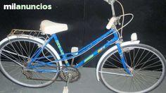 . bicicleta de paseo Orbita con dinamo y rejilla trasera Colores azul, pata de anclaje-La bicicleta tiene uso pero se enceuntra en buen estado, tal y como se puede ver en las im�genes