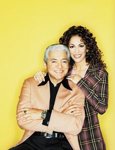 Percussionists (father/daughter) Pete Escovedo and Sheila E.