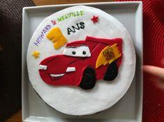 Mc Queen cake Cars