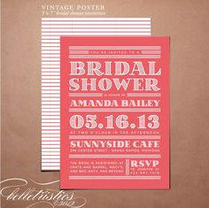 Printable #Bridal #Shower #Invitation