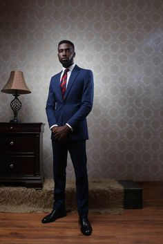 Nigeria's Reves Presents 'A Man's Diary' 2016 Collection; A Classic Suit Style Collection