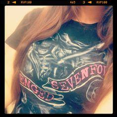 My Avenged Sevenfold shirt